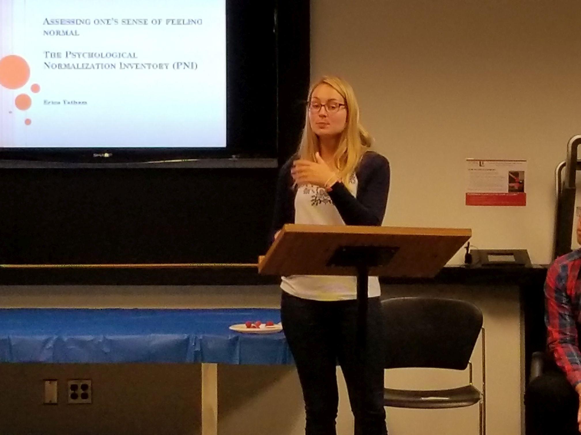 CNS  Student Presentation